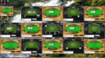 Tischanordnung - Poker