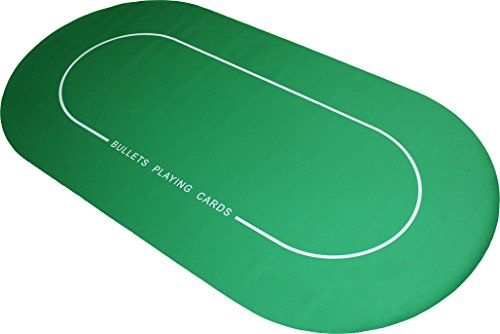 Profi Pokermatte 180 x 90cm von Bullets Playing Cards