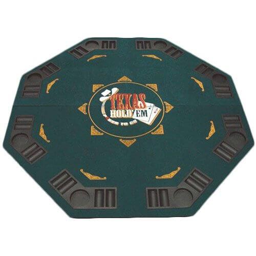 Faltbare Pokerauflage für 8 Personen