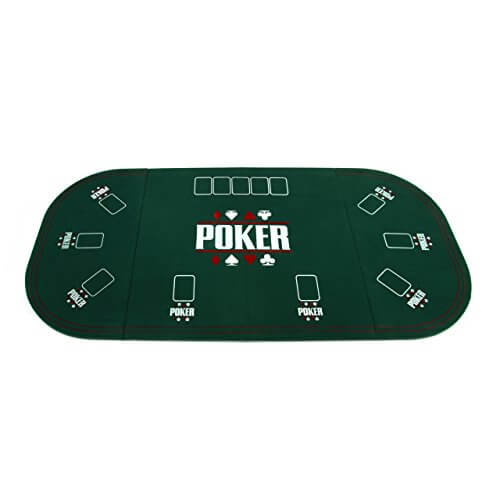 Faltbare Pokertischauflage – Casino Pokerauflage